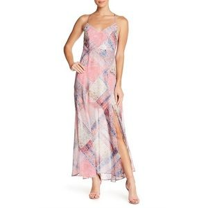 NEW! Show me Your Mumu Nicole Patchwork Maxi Dress